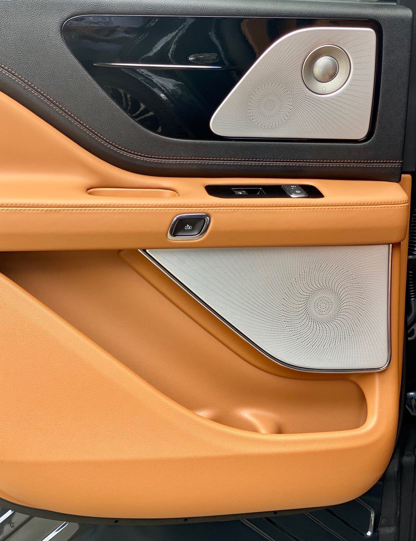 Revel Speakers and Sound System in Lincoln Aviator Front Side Door speakers image