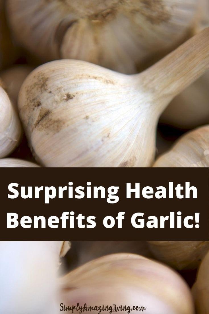 Health Benefits of Garlic Pin 2