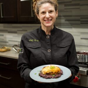 Chef Cyndi Sterne's Miso Glazed Sea Bass Recipe