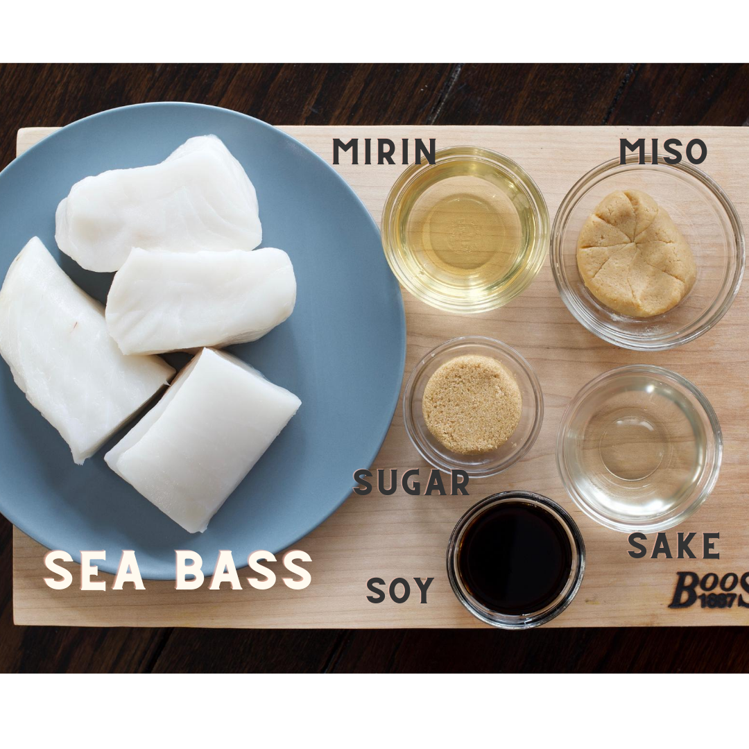Chef Cyndi Sterne's Amazing Miso Glazed Sea Bass Recipe