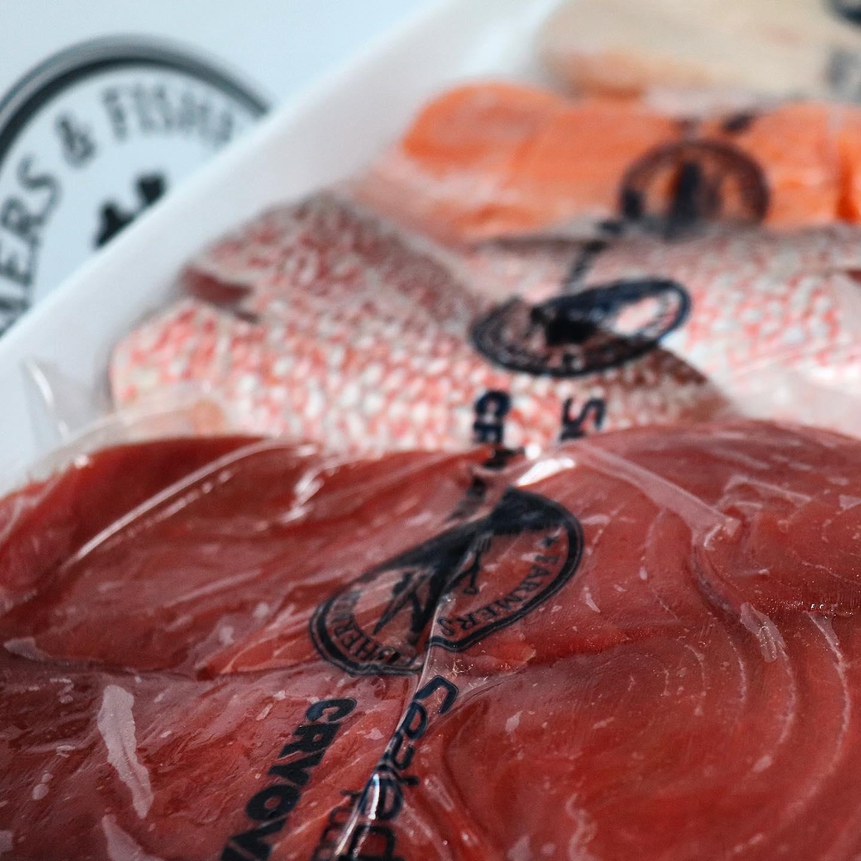 Chef Cyndi Sterne's Miso Glazed Sea Bass Recipe using Farmers and Fishermen Fish
