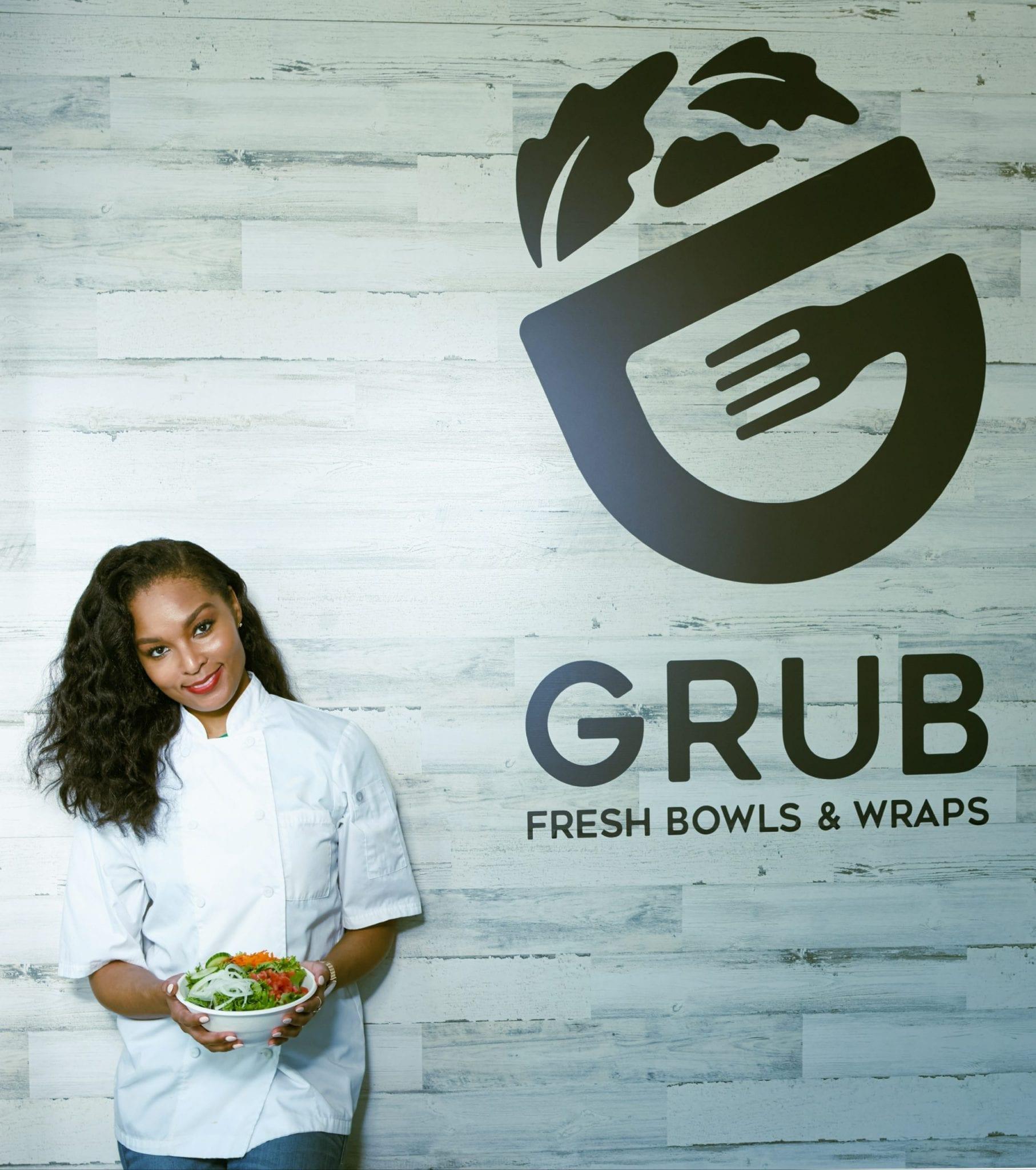 Chef Kelley Hicks of Grub Fresh Bowls & Wraps