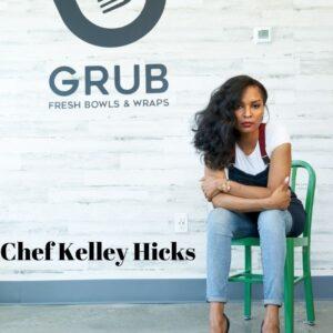 Chef Kelley Hicks Pin