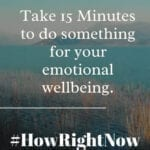 Make Your Emotional Wellbeing a Priority on October 15