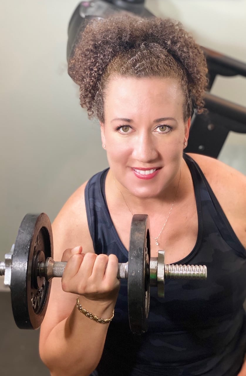 How Right Now Autumn Murray working out image