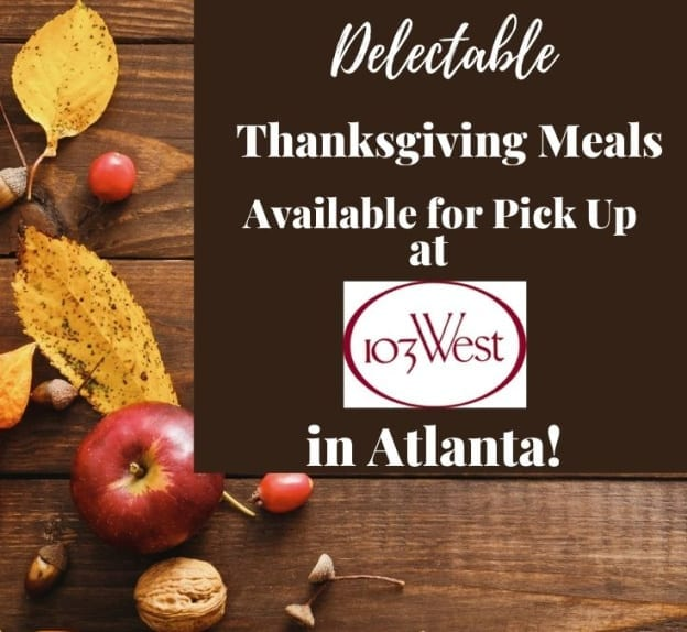 103 West Thanksgiving Meals to go